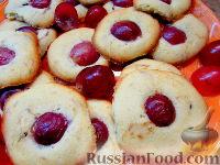Фото к рецепту: Печенье с виноградом