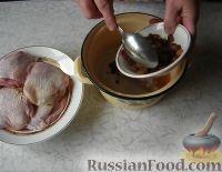 Фото приготовления рецепта: Курица в пиве - шаг №2