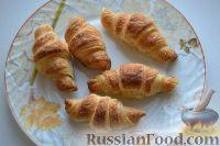 Фото к рецепту: Круассаны из готового слоеного дрожжевого теста