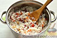 Фото приготовления рецепта: Кутья из риса с орехами и сухофруктами - шаг №10