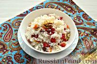Фото приготовления рецепта: Кутья из риса с орехами и сухофруктами - шаг №11