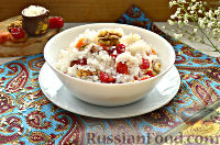 Фото приготовления рецепта: Кутья из риса с орехами и сухофруктами - шаг №12