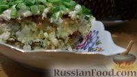Фото к рецепту: Салат со шпротами