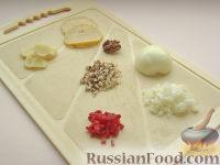 Фото приготовления рецепта: Картофель, фаршированный по-итальянски - шаг №3