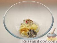 Фото приготовления рецепта: Картофель, фаршированный по-итальянски - шаг №5