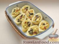 Фото приготовления рецепта: Картофель, фаршированный по-итальянски - шаг №6