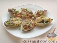 Фото приготовления рецепта: Картофель, фаршированный по-итальянски - шаг №8