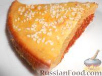 Фото к рецепту: Заливной пирог с мясом (в мультиварке)