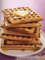 Фото к рецепту: Классическое тесто для приготовления вафель