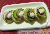 Фото к рецепту: Канапе с овощами