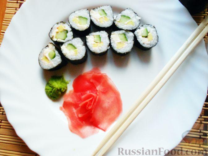 Рецепт суши в домашних условиях без рыбы