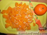 """Фото приготовления рецепта: Фруктовый салат """"Изумрудная черепаха"""" - шаг №3"""