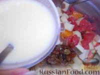 """Фото приготовления рецепта: Фруктовый салат """"Изумрудная черепаха"""" - шаг №9"""