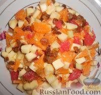 """Фото приготовления рецепта: Фруктовый салат """"Изумрудная черепаха"""" - шаг №11"""