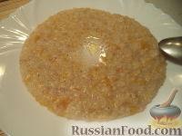Фото к рецепту: Каша пшеничная с тыквой