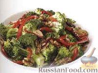 Фото к рецепту: Рагу из брокколи и болгарского перца