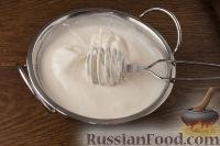 Фото приготовления рецепта: Чернослив с грецкими орехами, под сметанным кремом - шаг №6