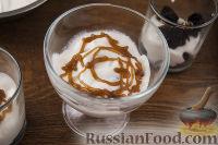 Фото приготовления рецепта: Чернослив с грецкими орехами, под сметанным кремом - шаг №7