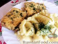 Фото к рецепту: Мясо по-французски с грибами