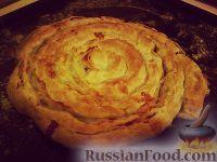 "Фото к рецепту: Пирог ""Мясная завитушка"""