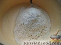 Фото приготовления рецепта: Кулич быстрого приготовления - шаг №7