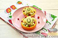 Фото к рецепту: Фруктовый салат к 8 Марта «С добрым утром, дорогая!»