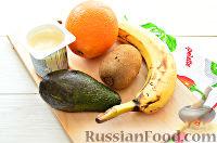 Фото приготовления рецепта: Фруктовый салат к 8 Марта «С добрым утром, дорогая!» - шаг №1