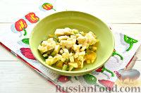Фото приготовления рецепта: Фруктовый салат к 8 Марта «С добрым утром, дорогая!» - шаг №6