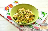 Фото приготовления рецепта: Фруктовый салат к 8 Марта «С добрым утром, дорогая!» - шаг №7