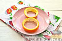 Фото приготовления рецепта: Фруктовый салат к 8 Марта «С добрым утром, дорогая!» - шаг №10