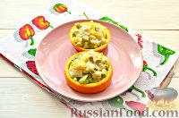 Фото приготовления рецепта: Фруктовый салат к 8 Марта «С добрым утром, дорогая!» - шаг №11