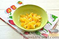 Фото приготовления рецепта: Фруктовый салат к 8 Марта «С добрым утром, дорогая!» - шаг №4