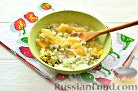 Фото приготовления рецепта: Фруктовый салат к 8 Марта «С добрым утром, дорогая!» - шаг №9