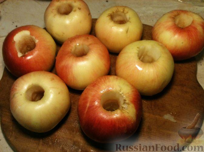 Утка с яблоками пошаговый фото