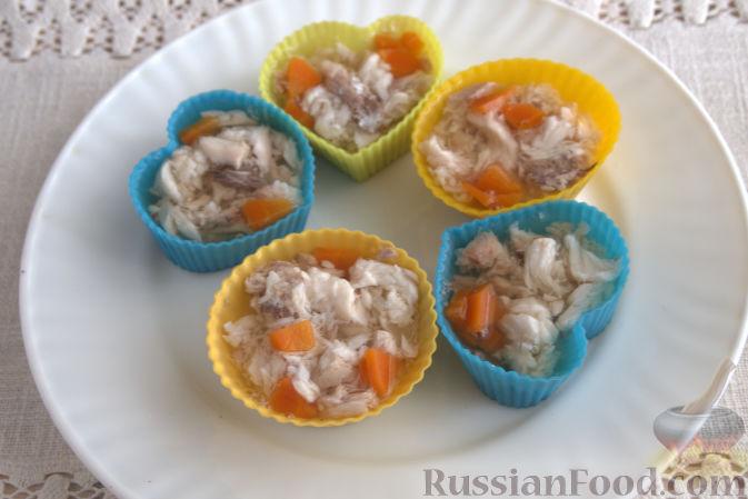 заливная рыба с желатином рецепт приготовления