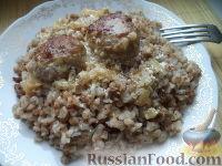 Фото приготовления рецепта: Тефтели в сметанном соусе - шаг №17