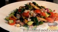 """Фото к рецепту: Восточный салат """"Фаттуш"""""""