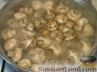 Фото приготовления рецепта: Жульен из шампиньонов - шаг №3