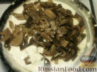 Фото приготовления рецепта: Жульен из шампиньонов - шаг №9