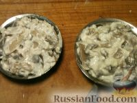 Фото приготовления рецепта: Жульен из шампиньонов - шаг №13