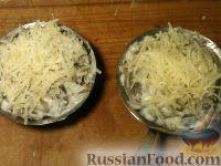 Фото приготовления рецепта: Жульен из шампиньонов - шаг №14