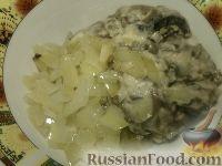 Фото приготовления рецепта: Жульен из шампиньонов - шаг №12
