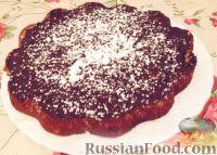 Фото к рецепту: Бананово-шоколадный пирог