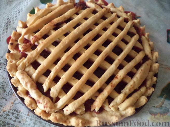 Рецепт пирога из маргарина и муки