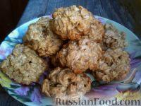 Фото к рецепту: Печенье овсяное «Полезное»