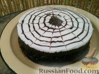 """Фото к рецепту: Торт """"С днем рождения"""""""