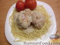 Фото к рецепту: Тефтели из свинины и курицы