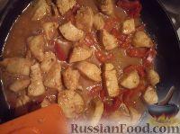 Фото приготовления рецепта: Куриное филе по-китайски - шаг №9