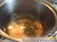 Фото приготовления рецепта: Шампиньоны маринованные - шаг №3