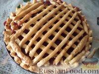 Фото к рецепту: Слоеный пирог с вареньем